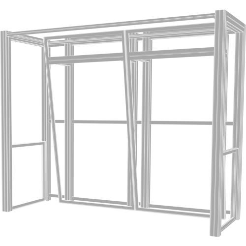 Hybrid Pro 10ft Modular Backwall Kit 04