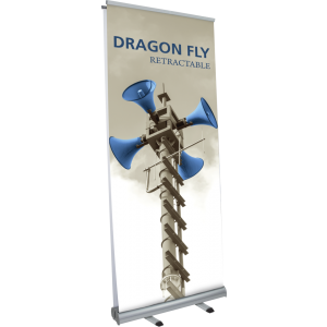 Dragon Fly Retractable Banner Stand